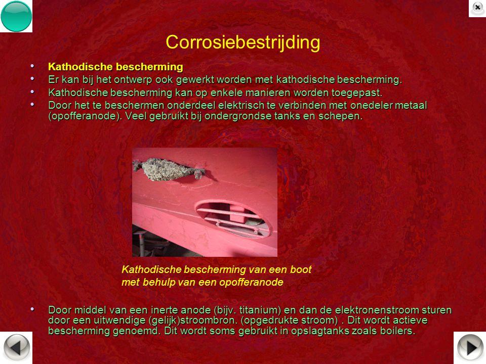 Corrosiebestrijding Kathodische bescherming