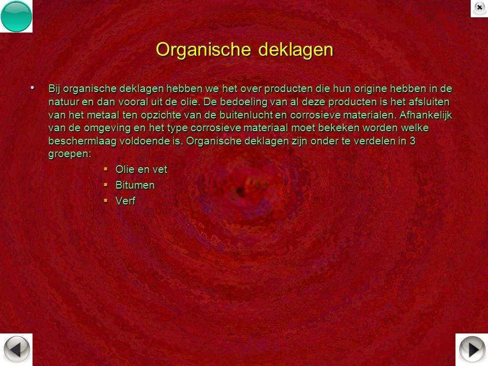 Organische deklagen
