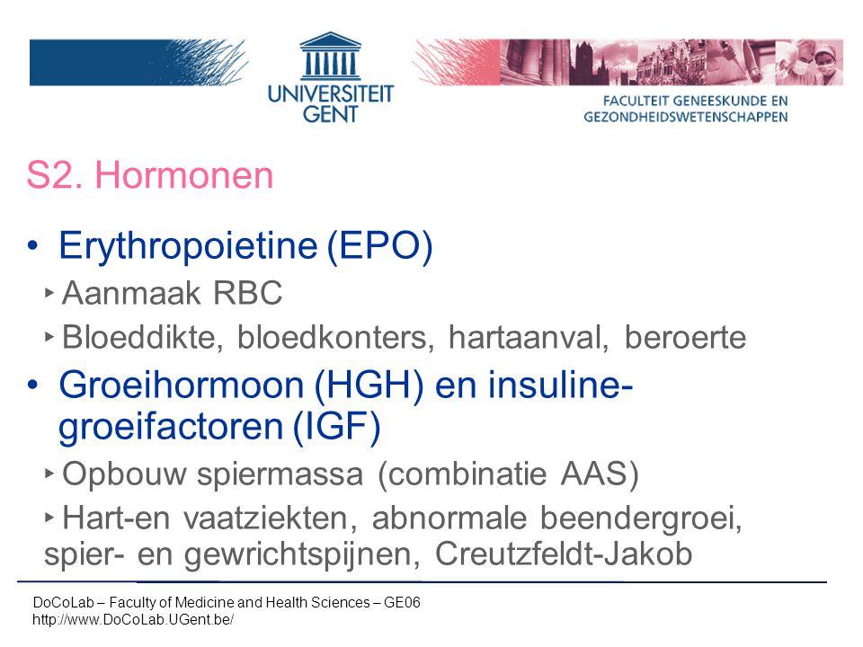 Erythropoietine (EPO)