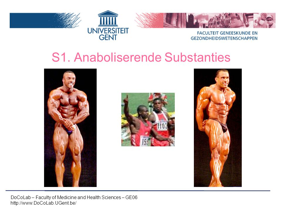S1. Anaboliserende Substanties