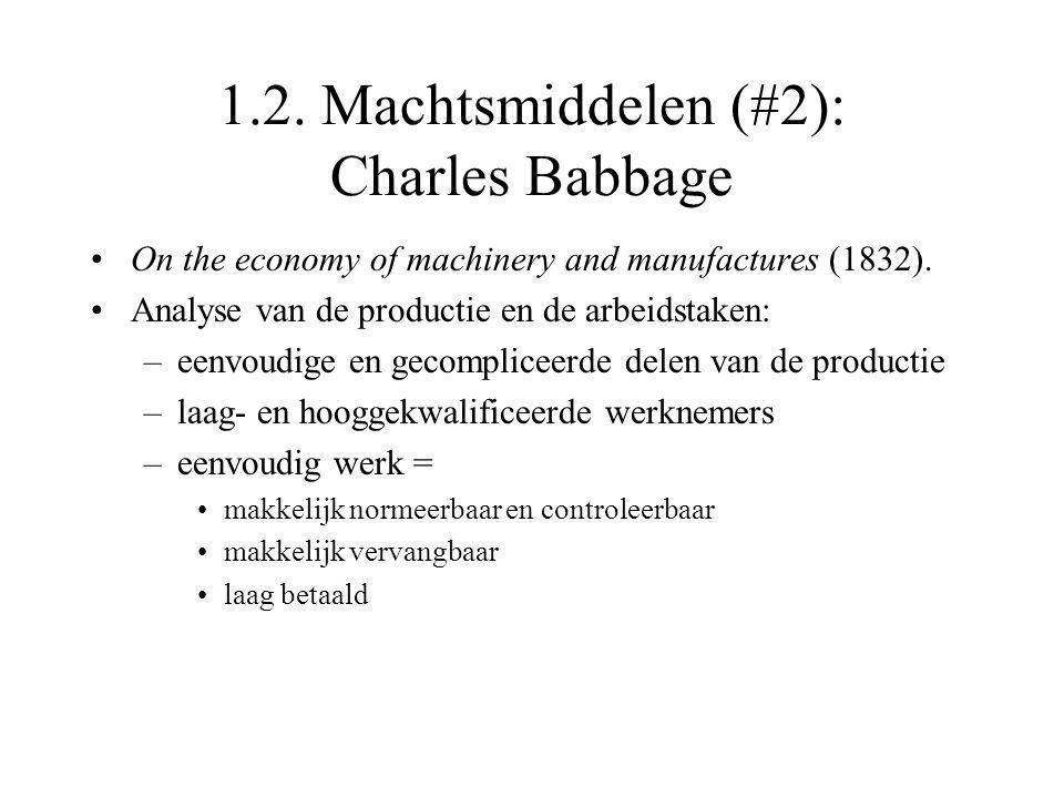 1.2. Machtsmiddelen (#2): Charles Babbage
