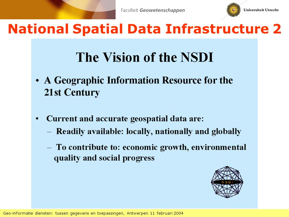 National Spatial Data Infrastructure 2