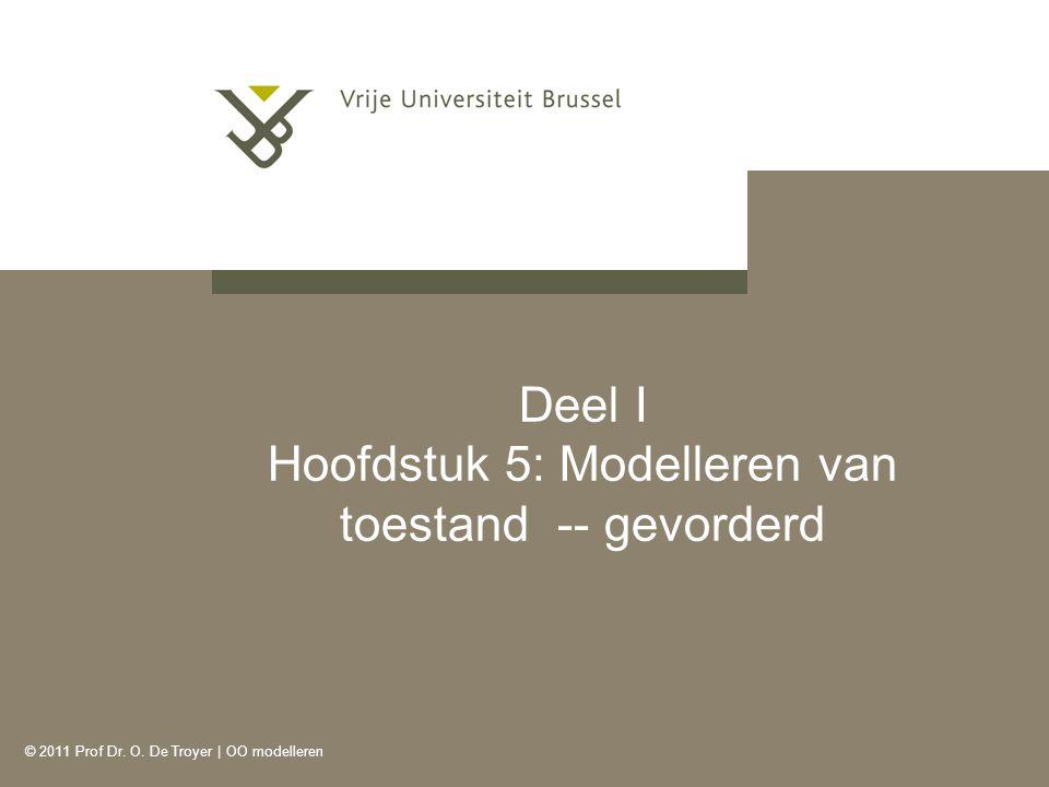 Deel I Hoofdstuk 5: Modelleren van toestand -- gevorderd