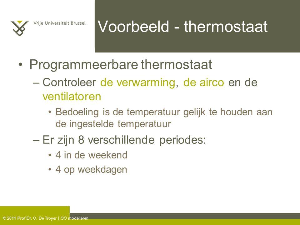 Voorbeeld - thermostaat