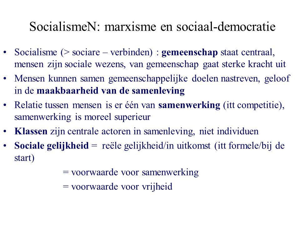 SocialismeN: marxisme en sociaal-democratie