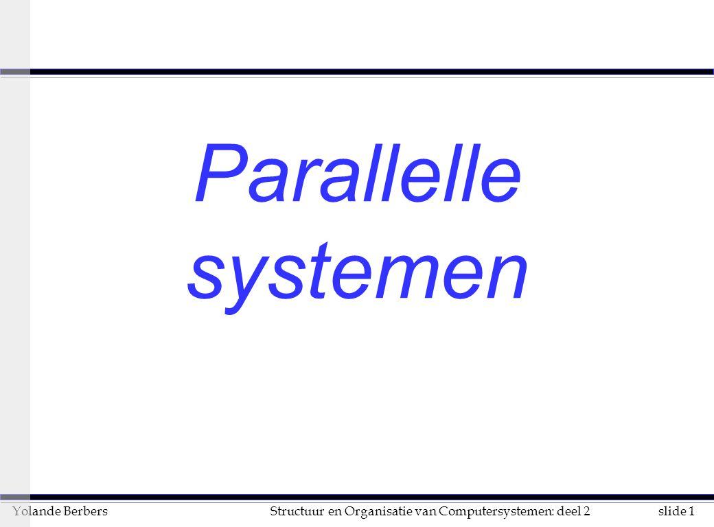 Parallelle systemen