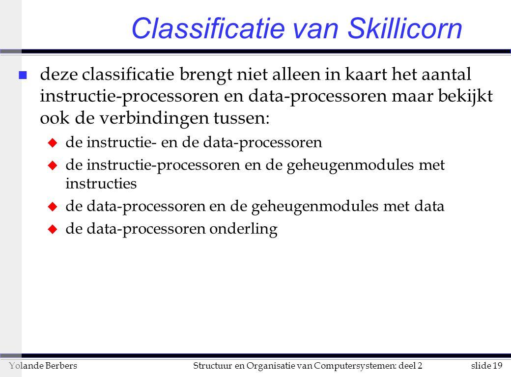 Classificatie van Skillicorn