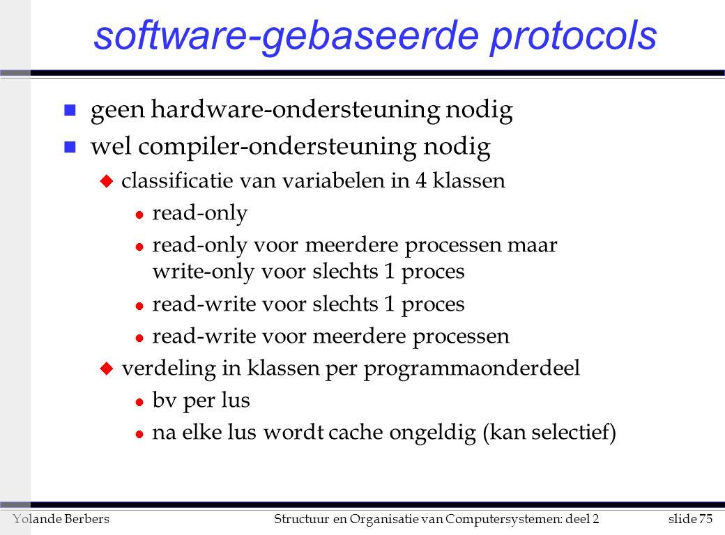 software-gebaseerde protocols