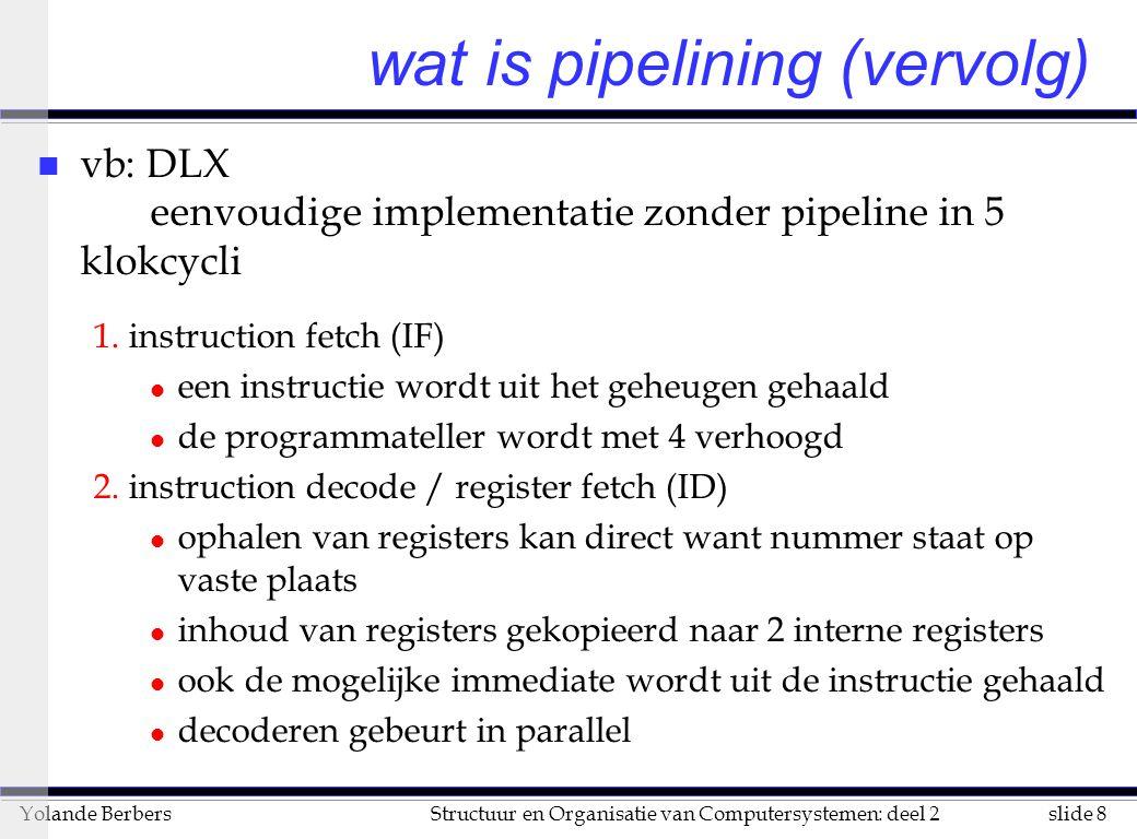 wat is pipelining (vervolg)