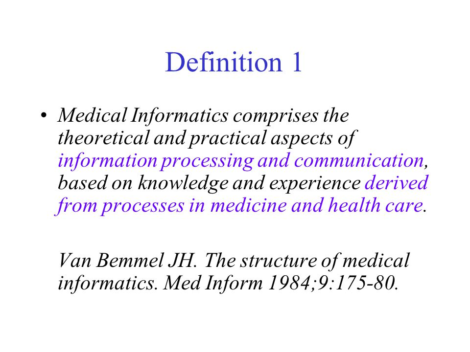 Definition 1