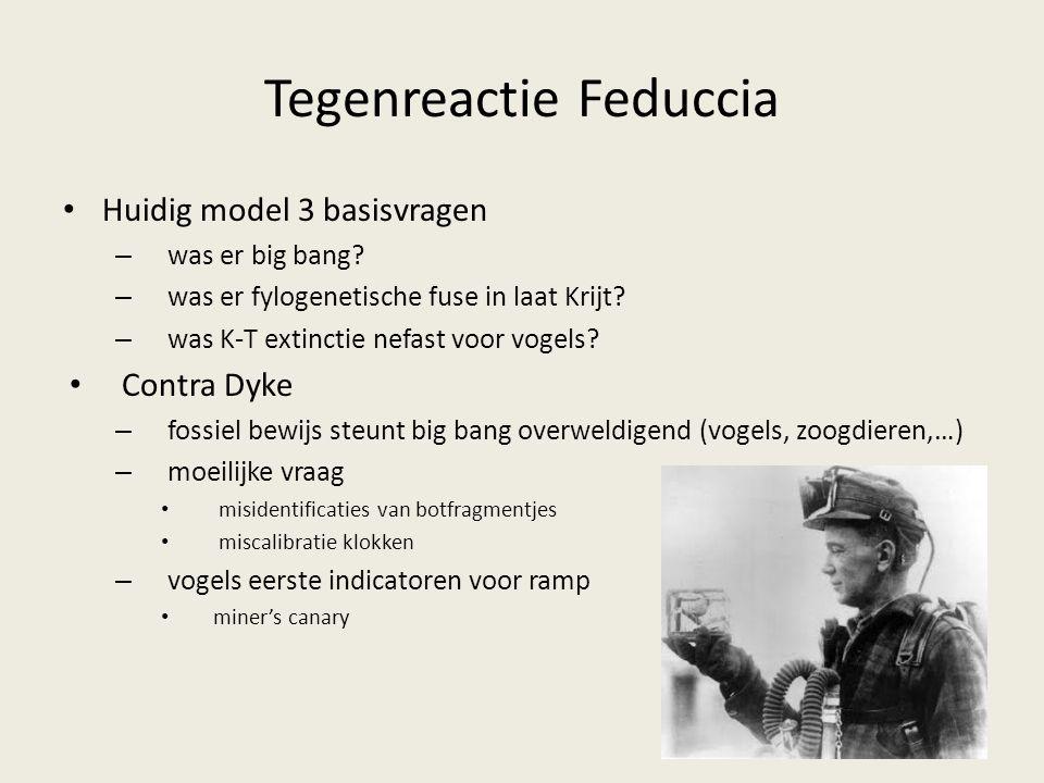 Tegenreactie Feduccia