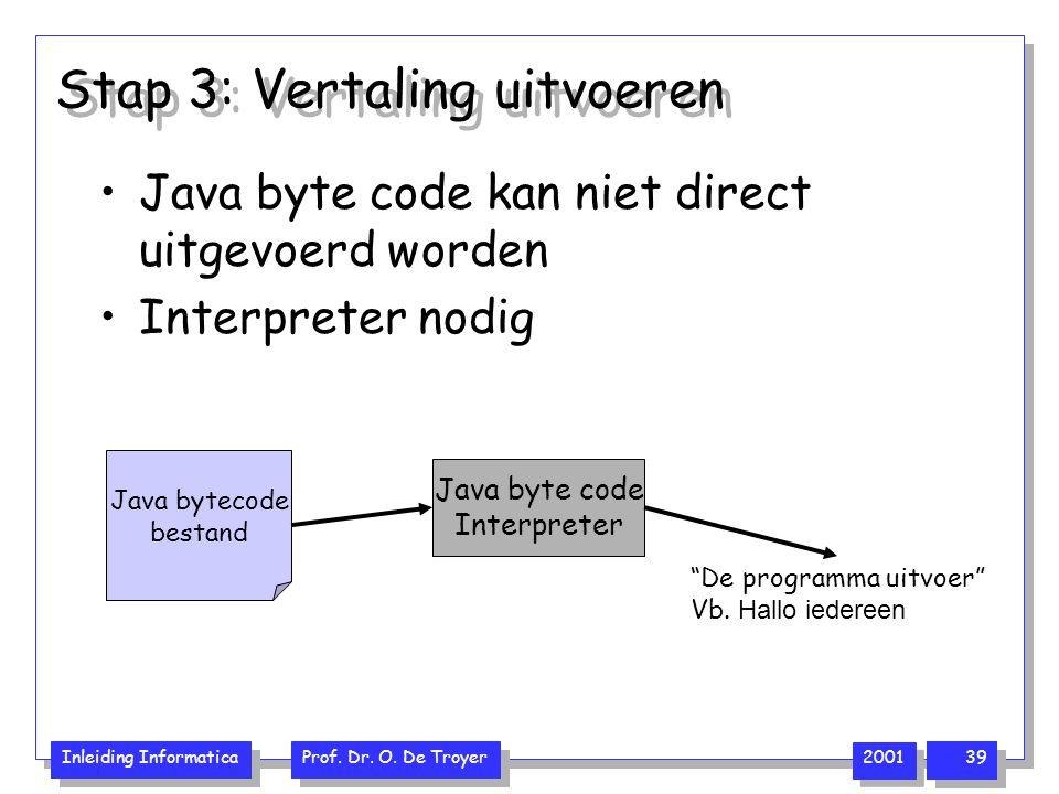 Stap 3: Vertaling uitvoeren