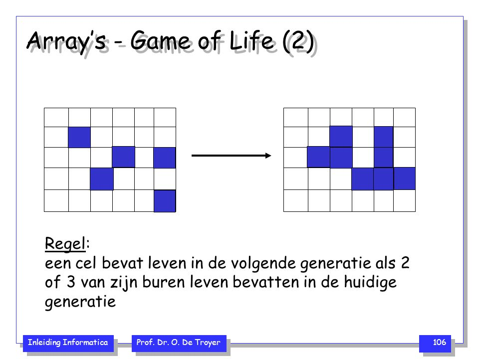 Array's - Game of Life (2)