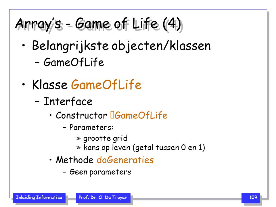Array's - Game of Life (4)
