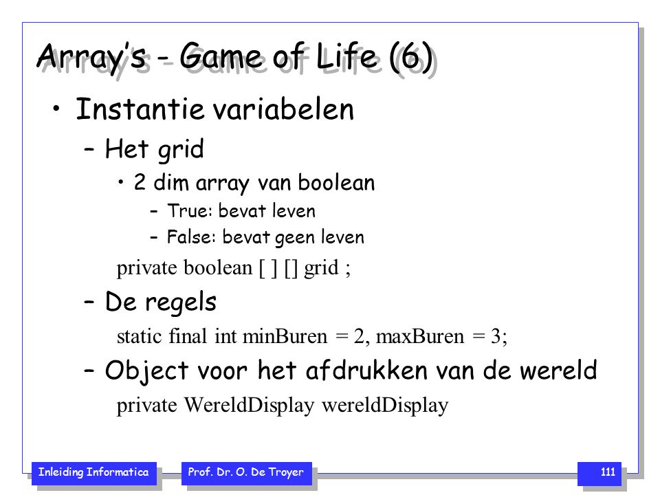 Array's - Game of Life (6)