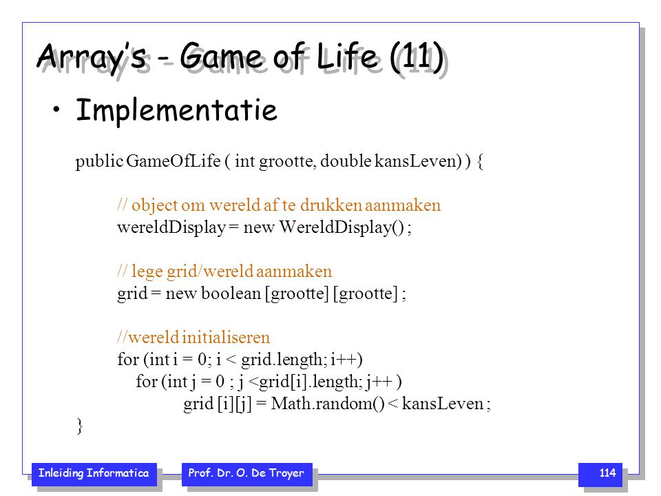 Array's - Game of Life (11)