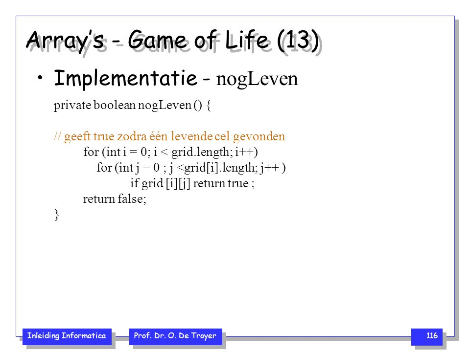Array's - Game of Life (13)