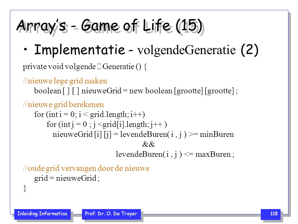 Array's - Game of Life (15)