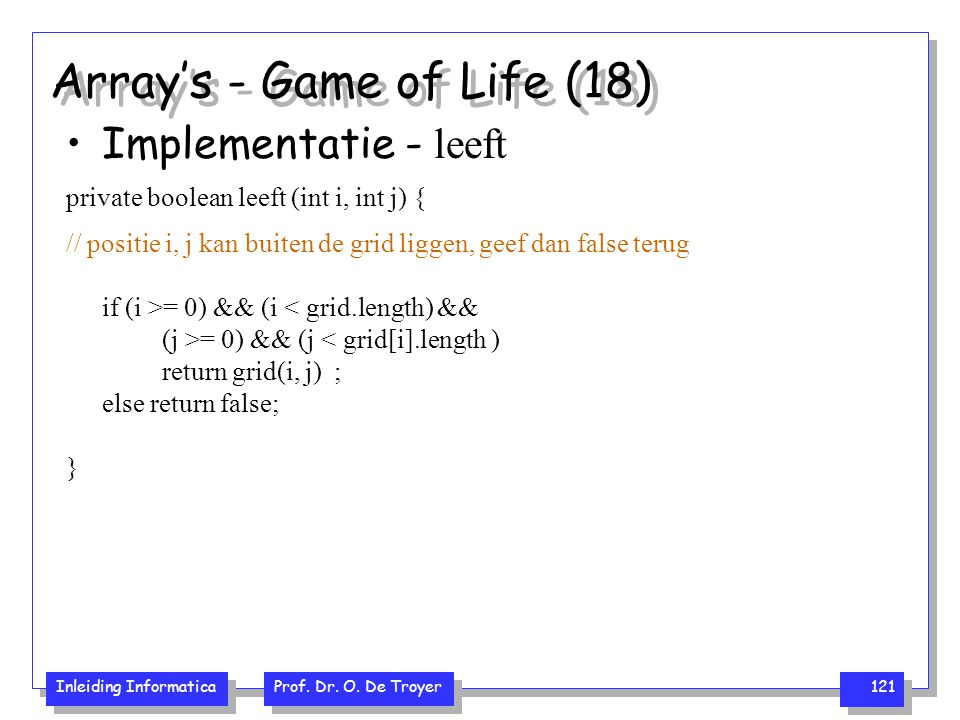 Array's - Game of Life (18)
