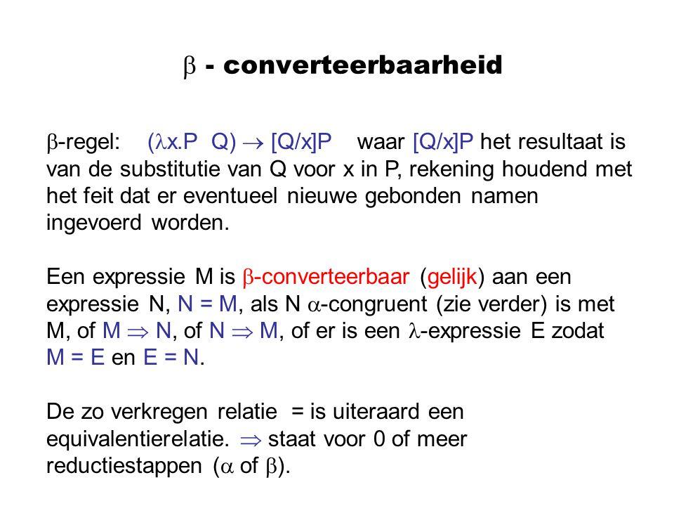  - converteerbaarheid