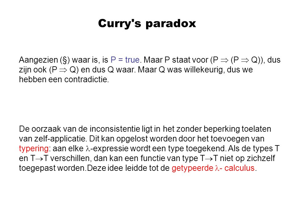 Curry s paradox