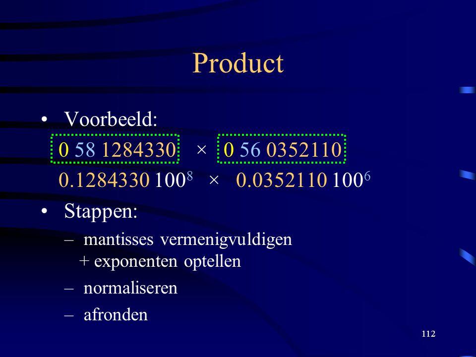 Product Voorbeeld: 0 58 1284330 × 0 56 0352110. 0.1284330 1008 × 0.0352110 1006. Stappen: