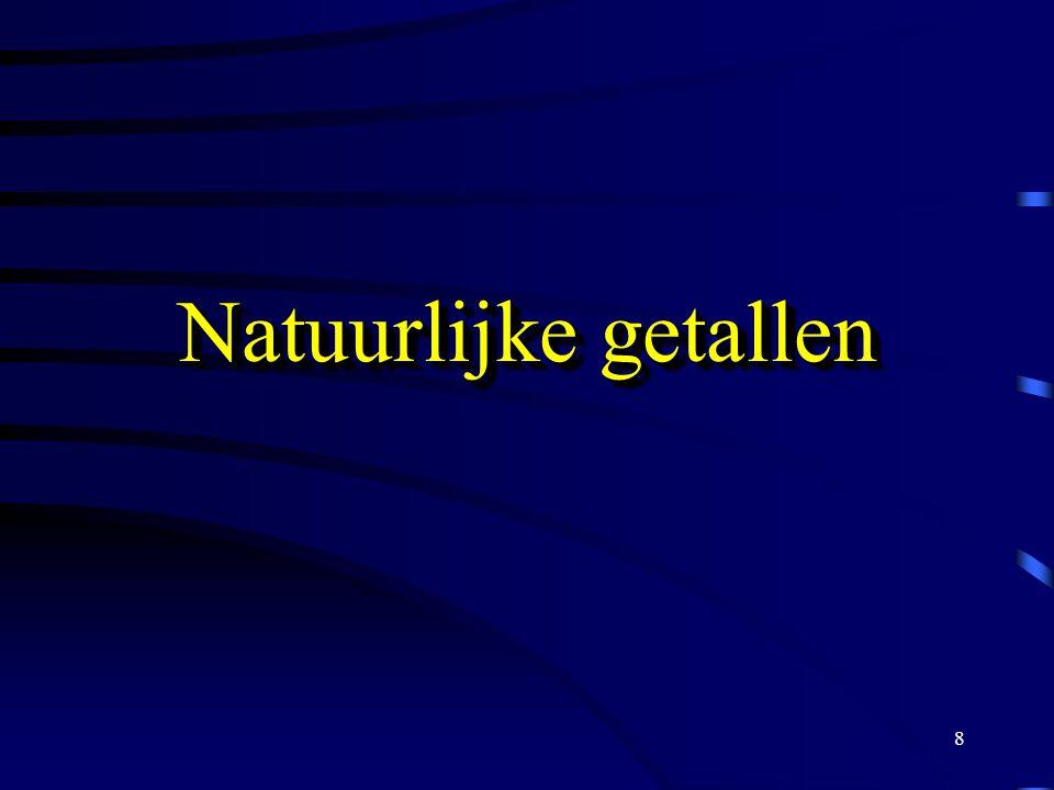 Natuurlijke getallen