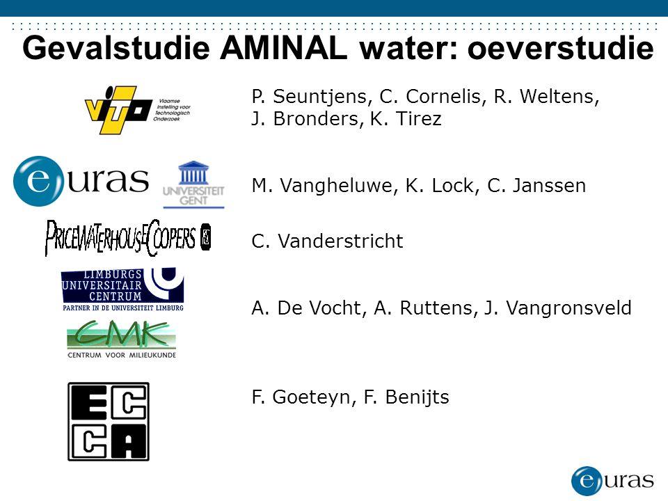 Gevalstudie AMINAL water: oeverstudie