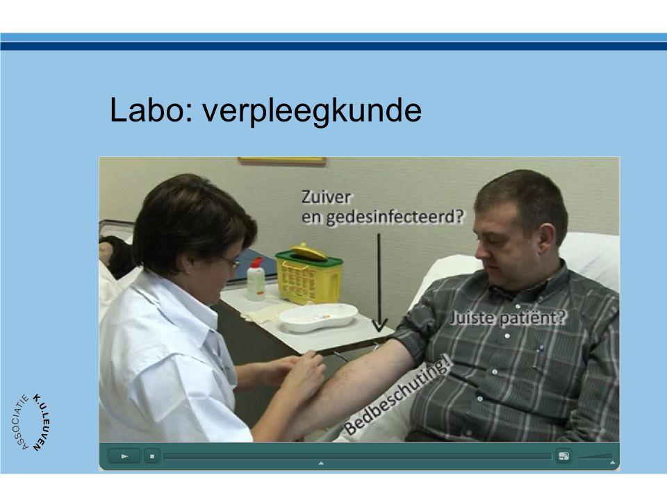 Labo: verpleegkunde http://ad.kahosl.be/doo/carlo.vandenbunder/VPK2/Bloedafname_Stem.html. Productie van DOO, Kahosl.