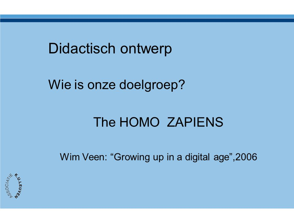 Wim Veen: Growing up in a digital age ,2006