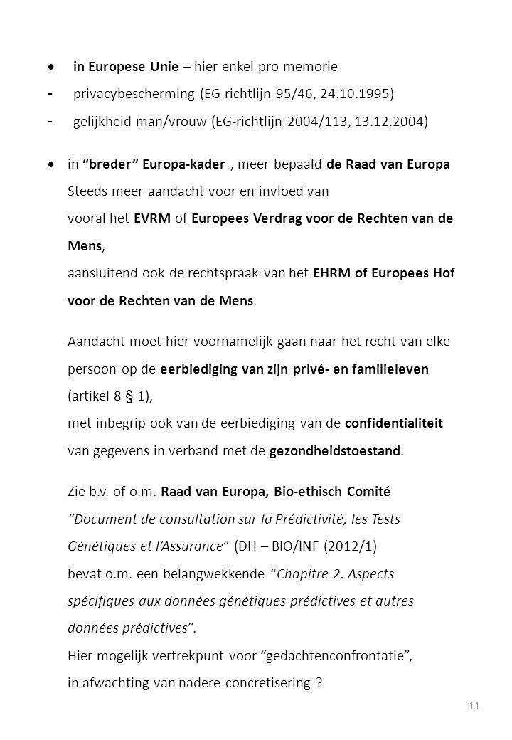 in Europese Unie – hier enkel pro memorie