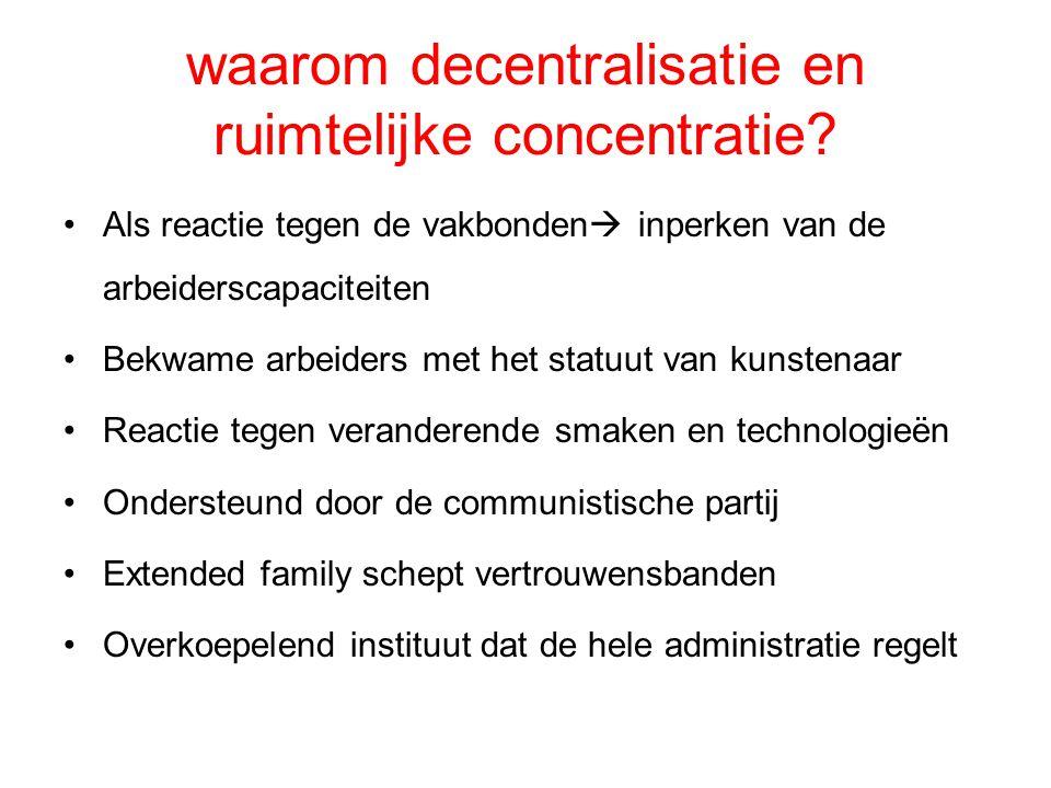 waarom decentralisatie en ruimtelijke concentratie