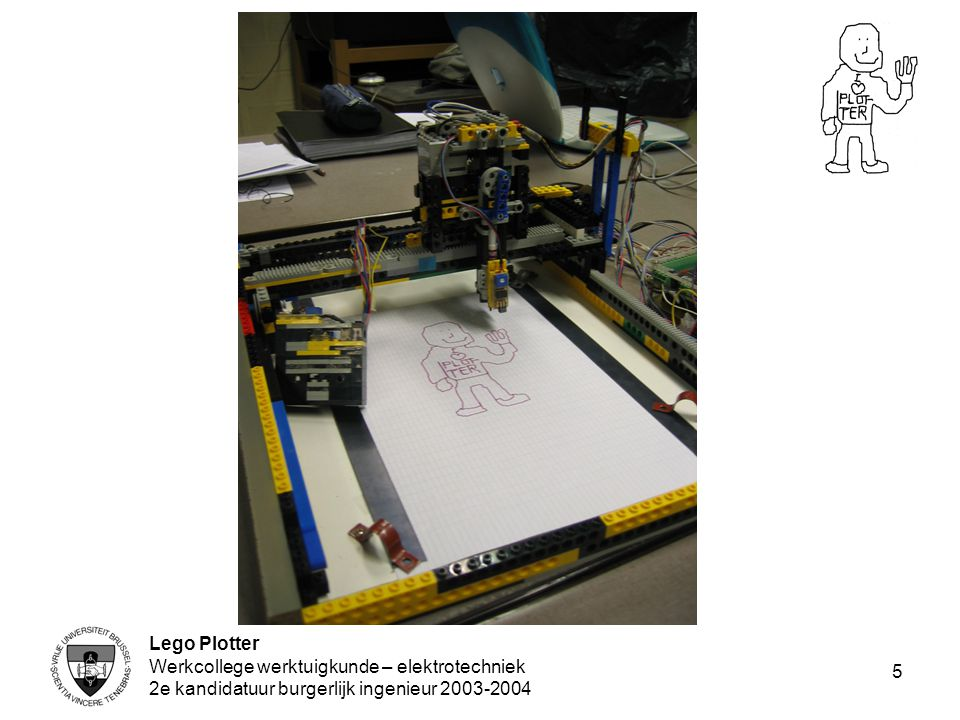 Lego Plotter Werkcollege werktuigkunde – elektrotechniek.