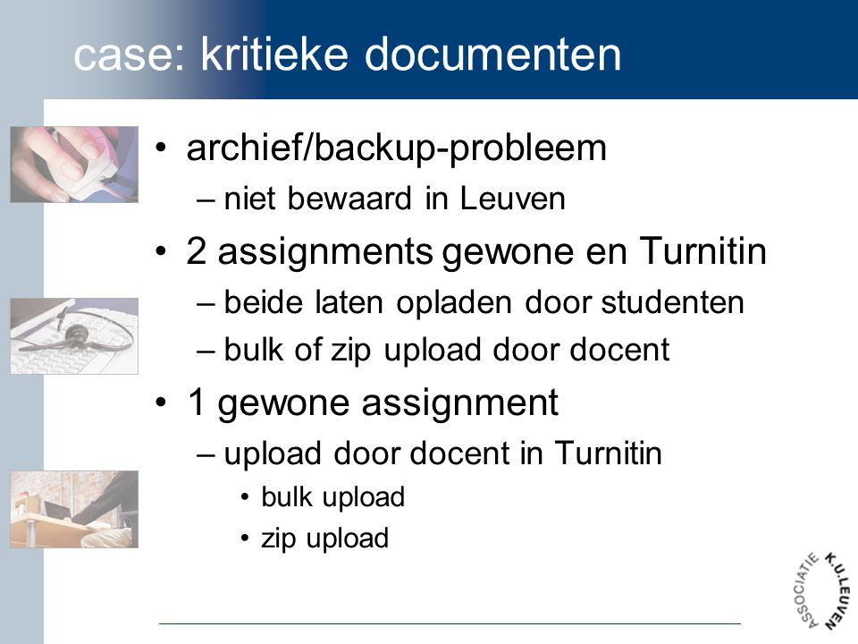 case: kritieke documenten