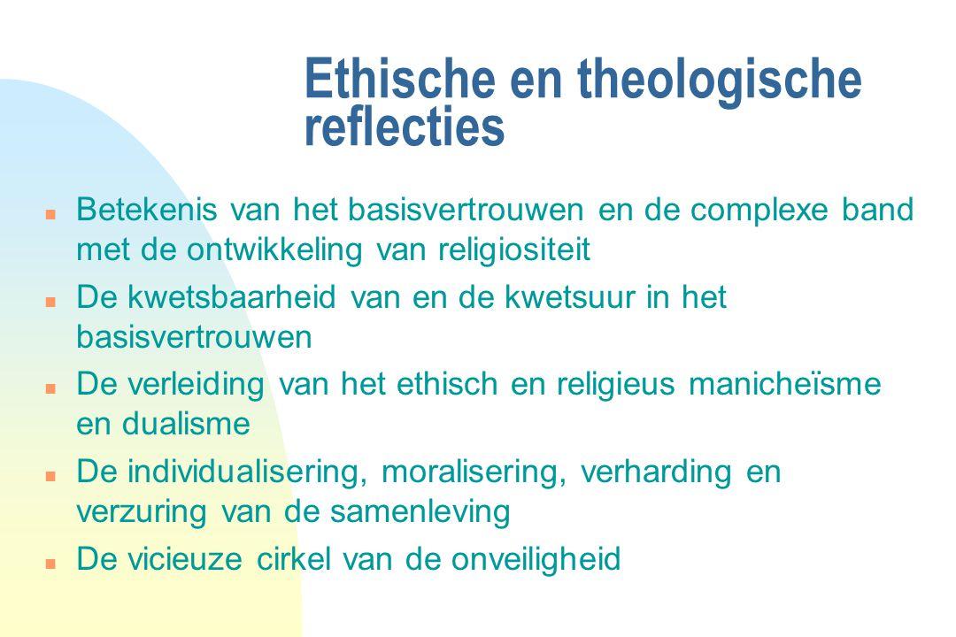 Ethische en theologische reflecties
