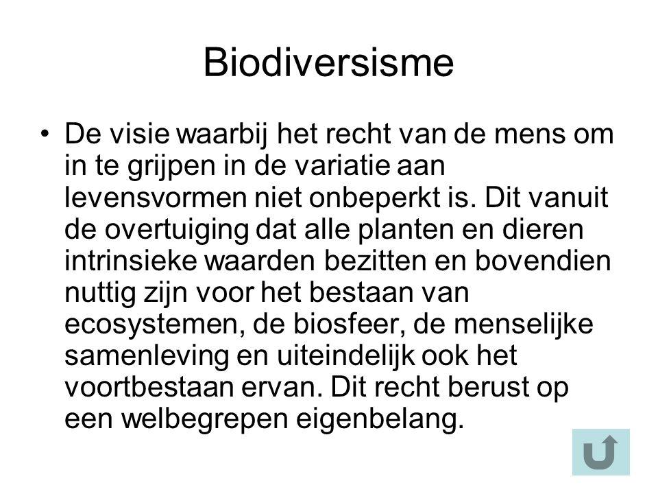 Biodiversisme