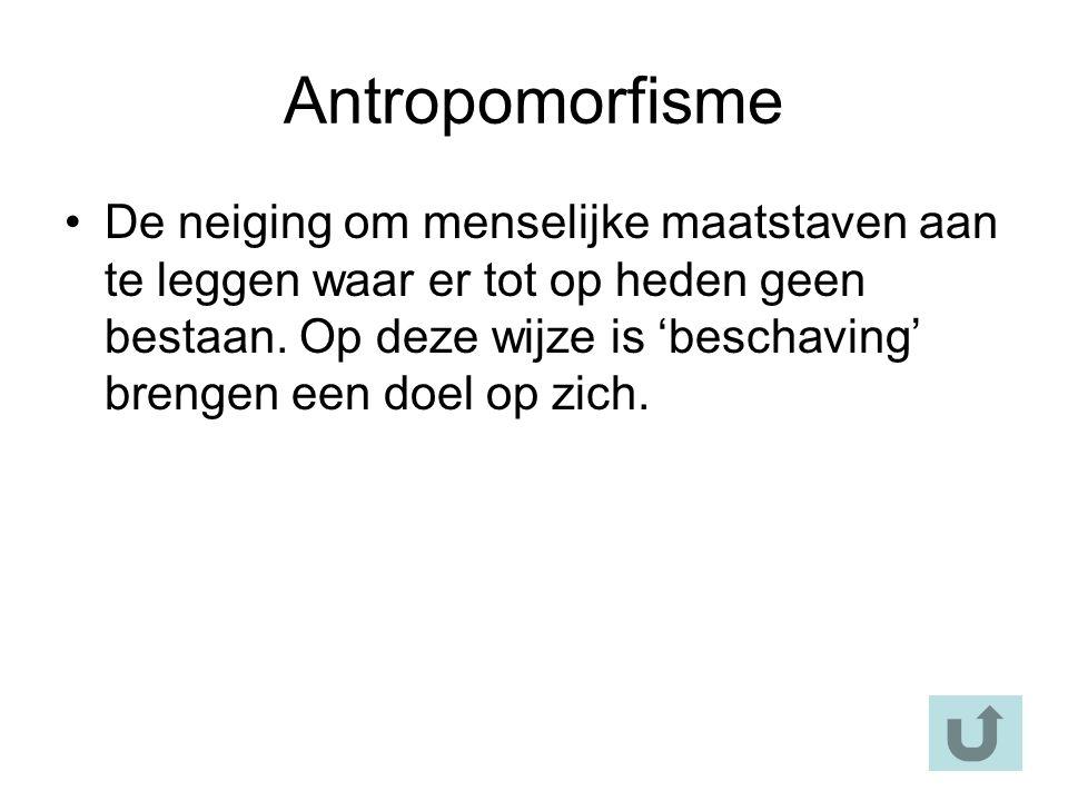 Antropomorfisme