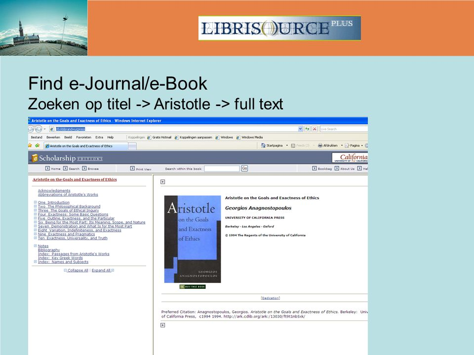 Find e-Journal/e-Book