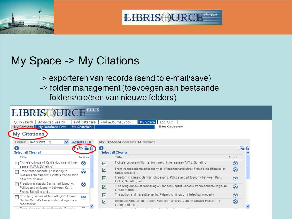My Space -> My Citations