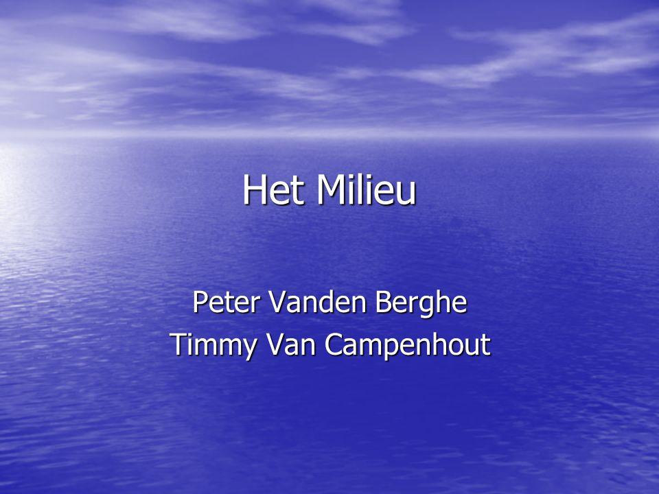 Peter Vanden Berghe Timmy Van Campenhout