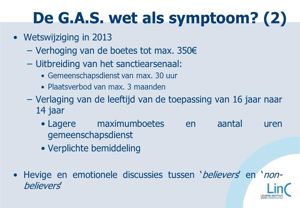 De G.A.S. wet als symptoom (2)
