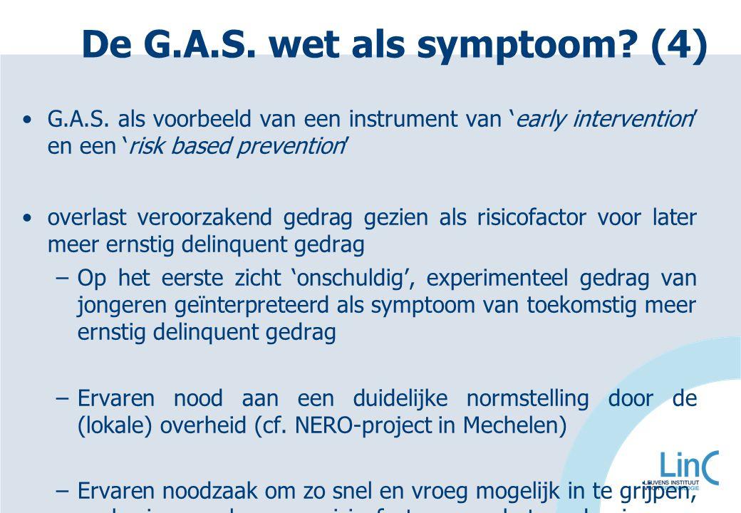 De G.A.S. wet als symptoom (4)