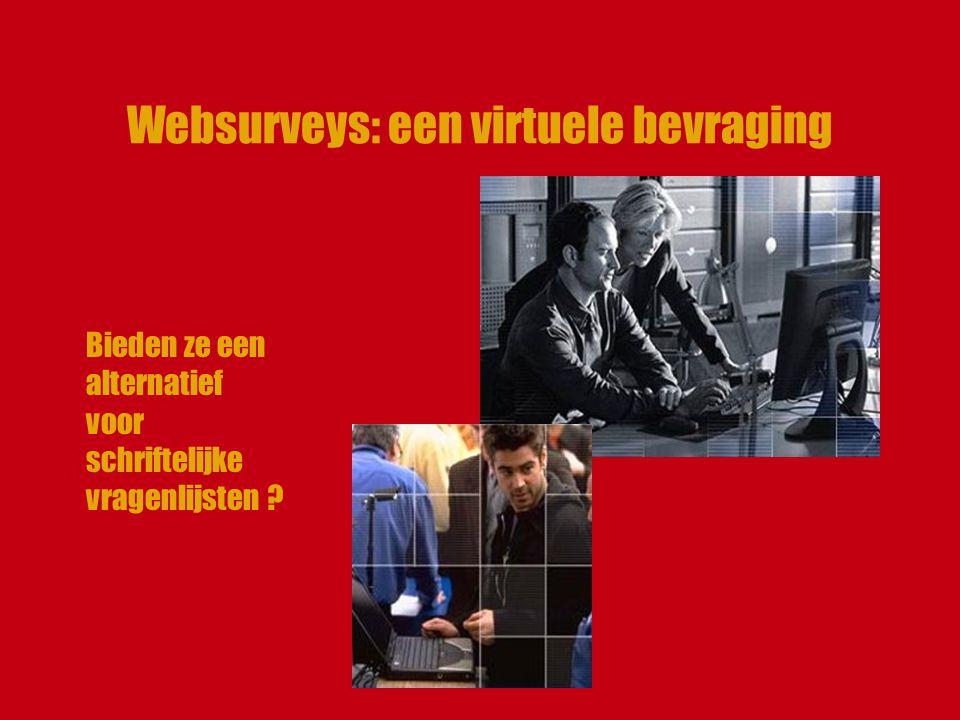 Websurveys: een virtuele bevraging