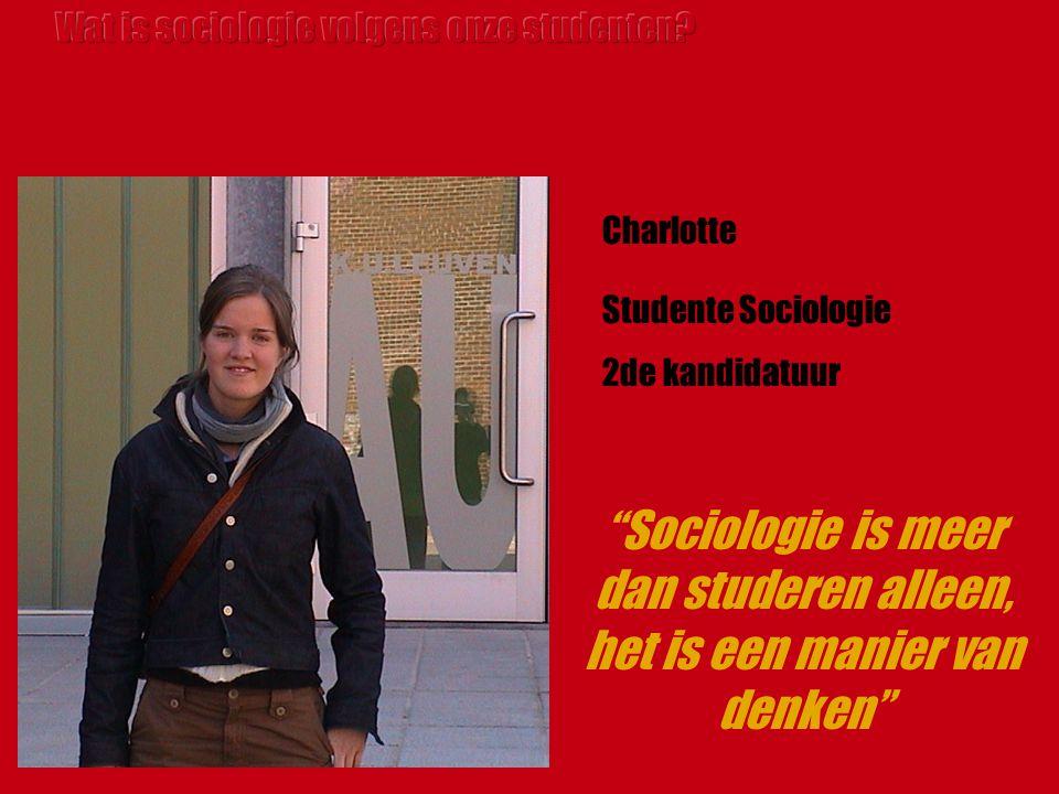Sociologie is meer dan studeren alleen, het is een manier van denken