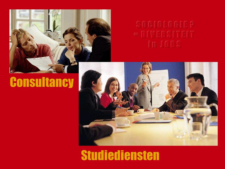 Consultancy Studiediensten S O C I O L O G I E