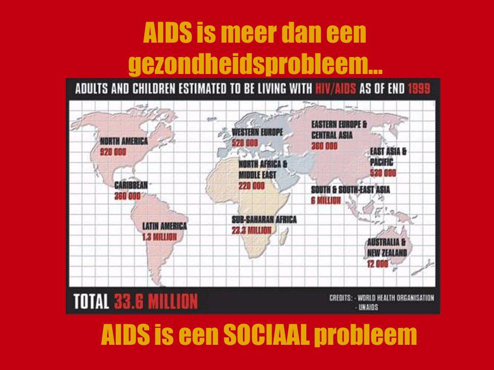AIDS is meer dan een gezondheidsprobleem…