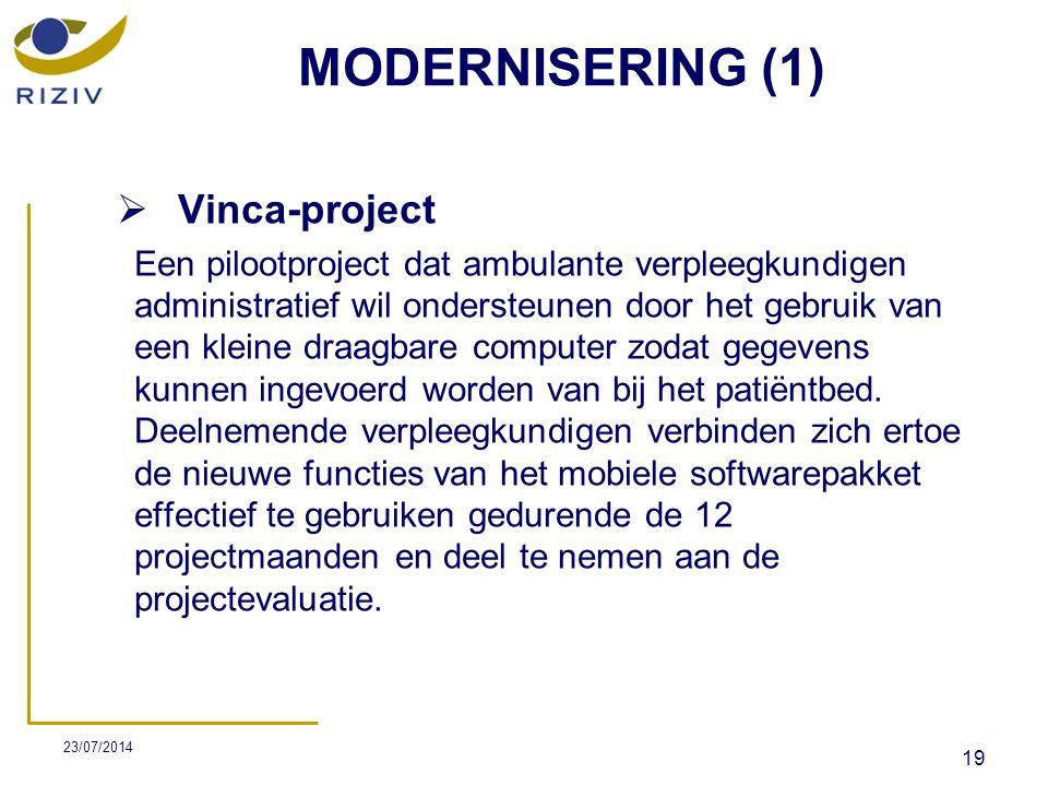 MODERNISERING (1) Vinca-project