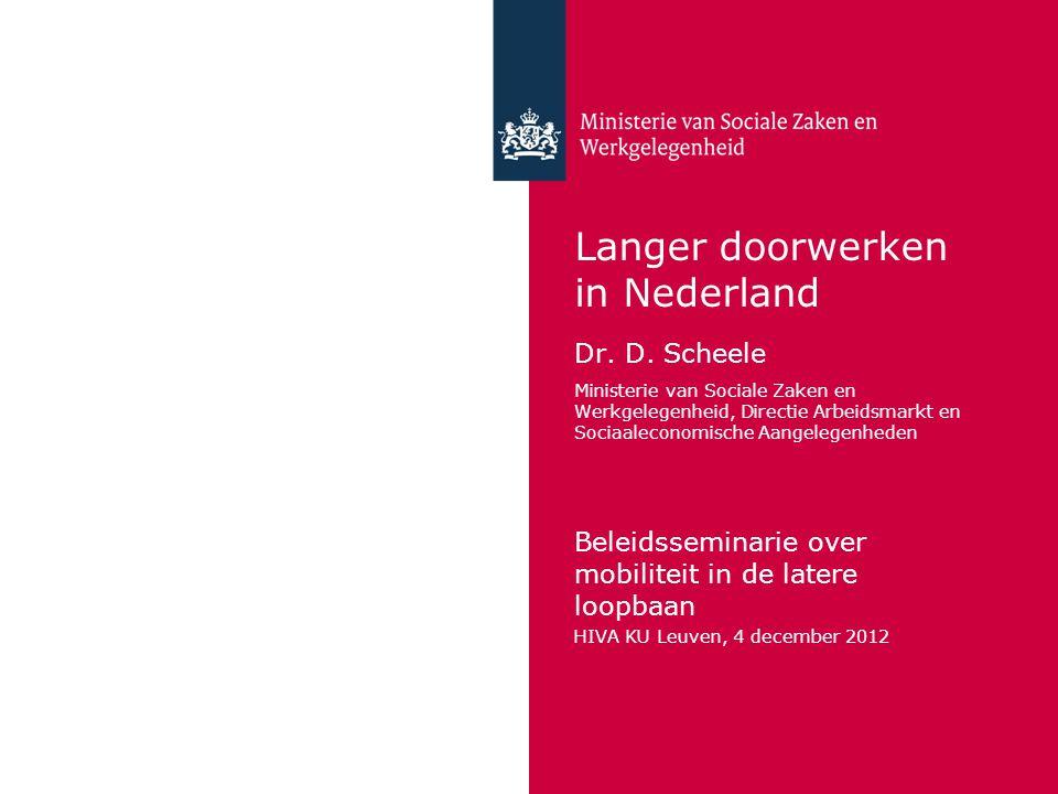 Langer doorwerken in Nederland