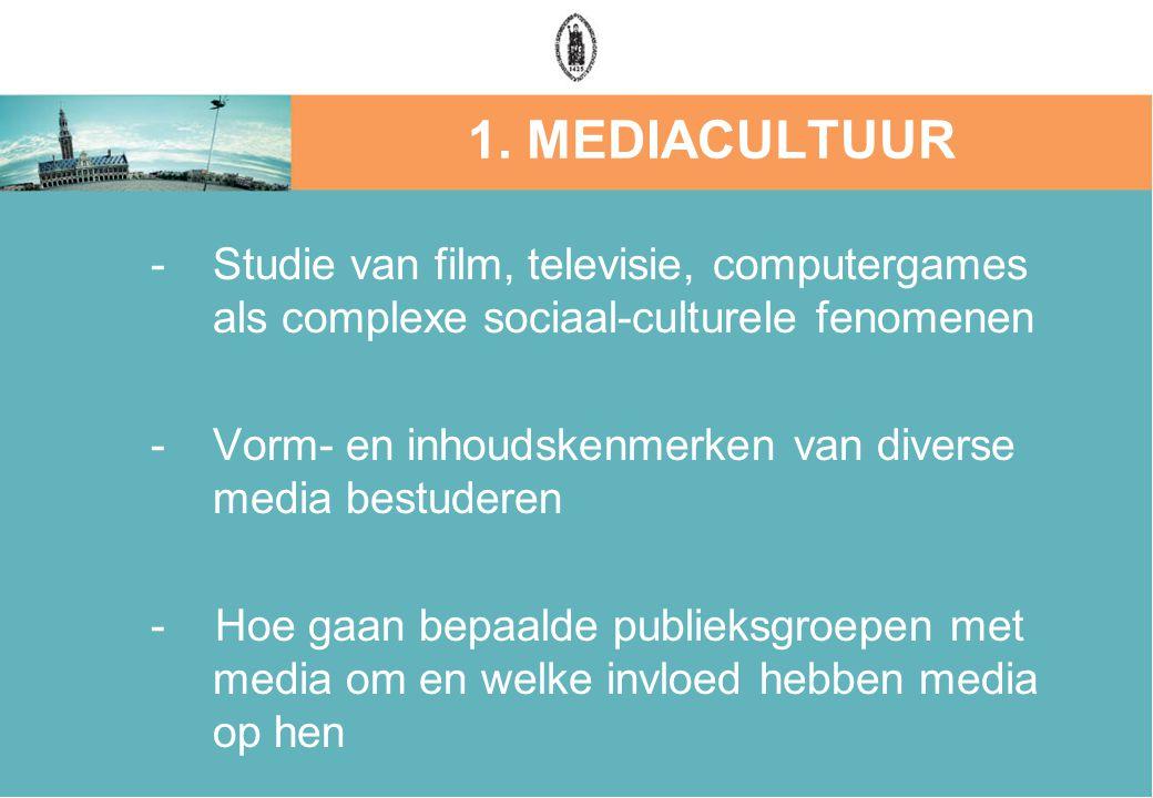 Vorm- en inhoudskenmerken van diverse media bestuderen