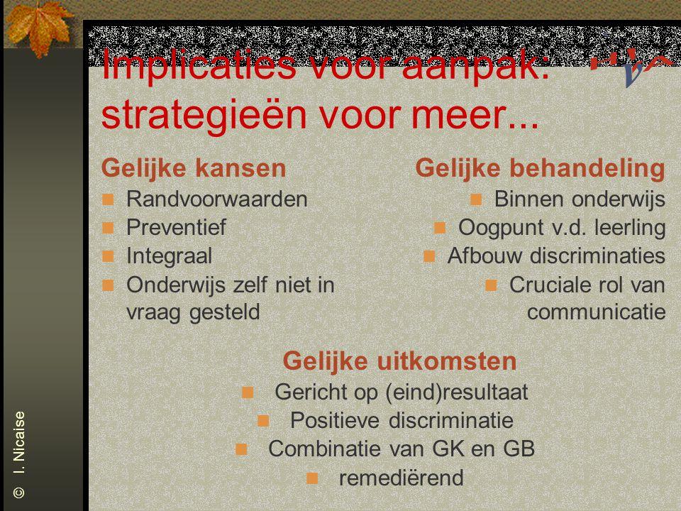 Implicaties voor aanpak: strategieën voor meer...